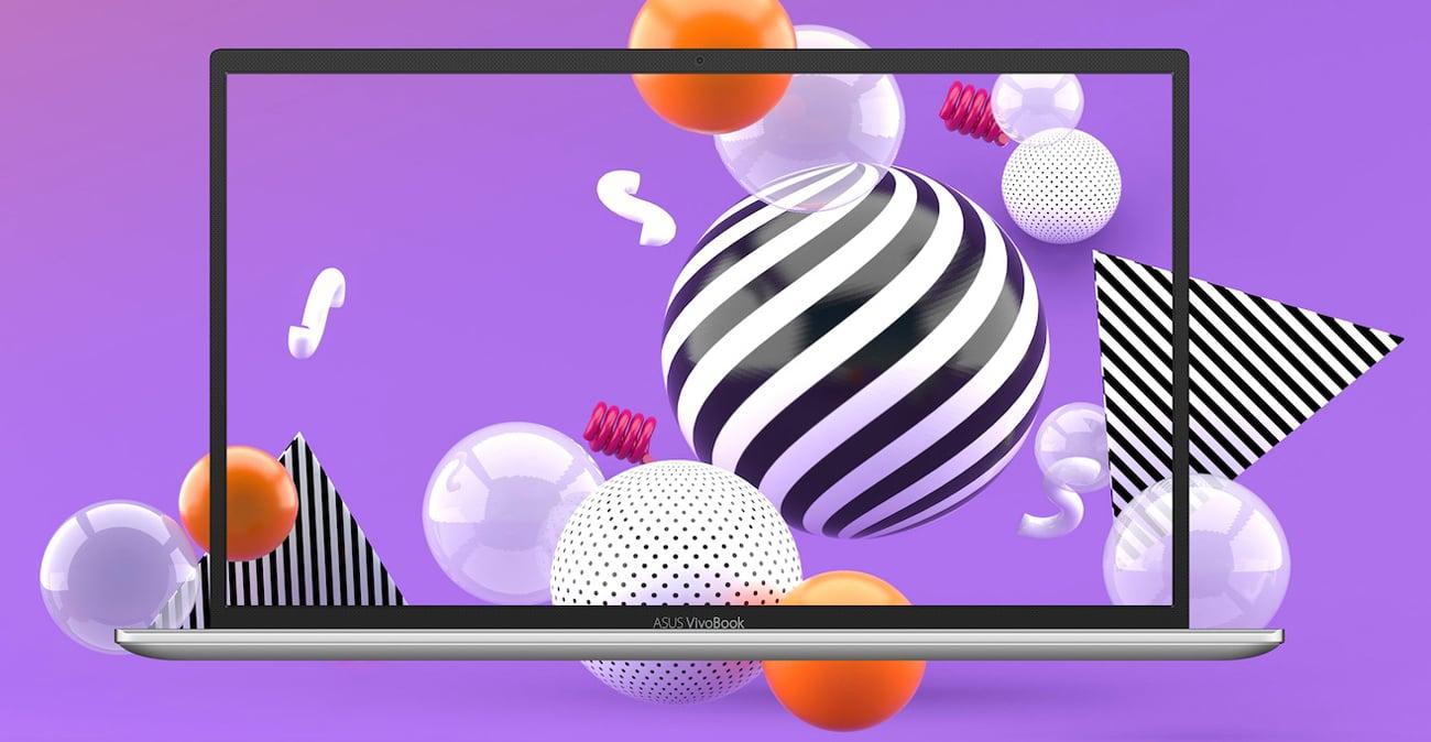 ASUS VivoBook 14  Ekran NanoEdge