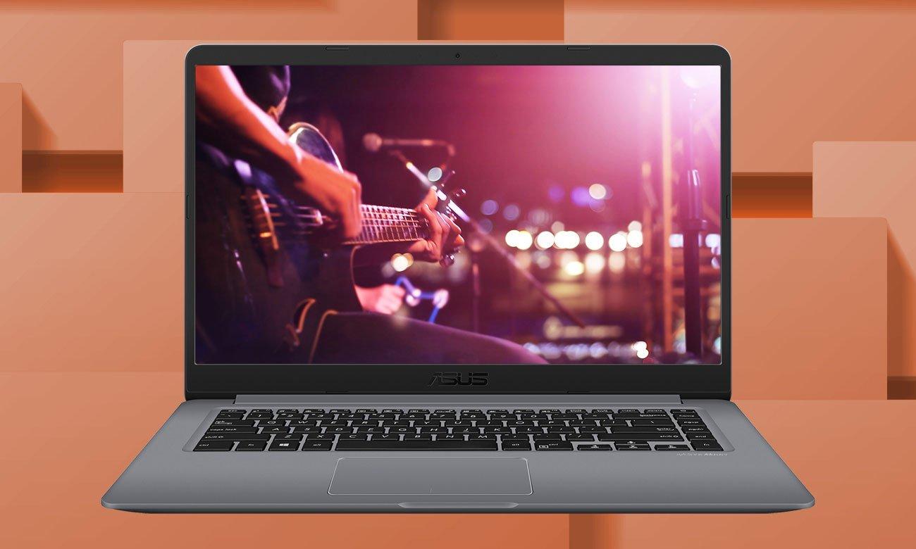 ASUS VivoBook 15 R520UA Równowaga dźwięku do różnego rodzaju zastosowań