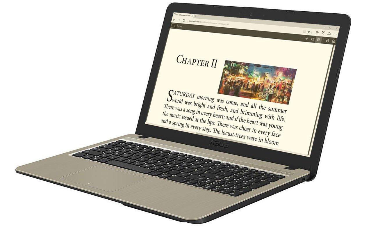 ASUS VivoBook R540MA grafika Intel UHD Graphics