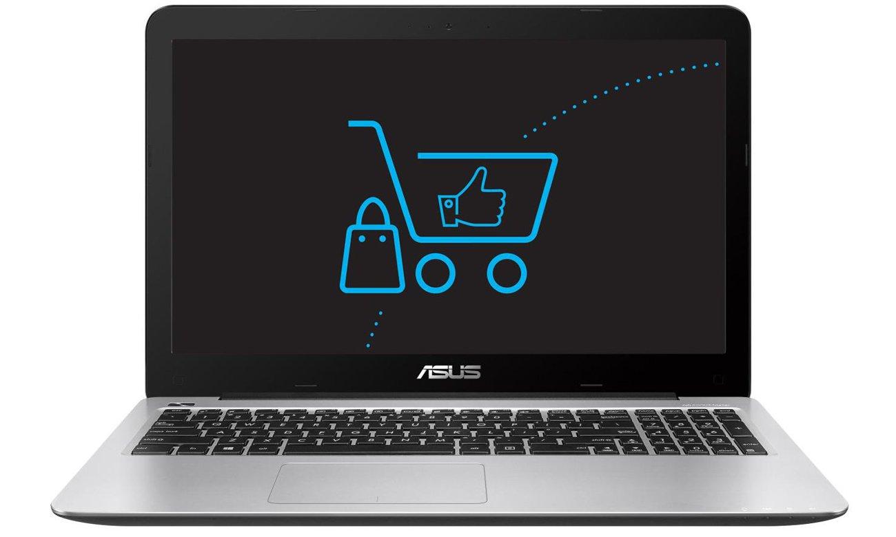 ASUS R558UA procesor intel core i5 siódmej generacji