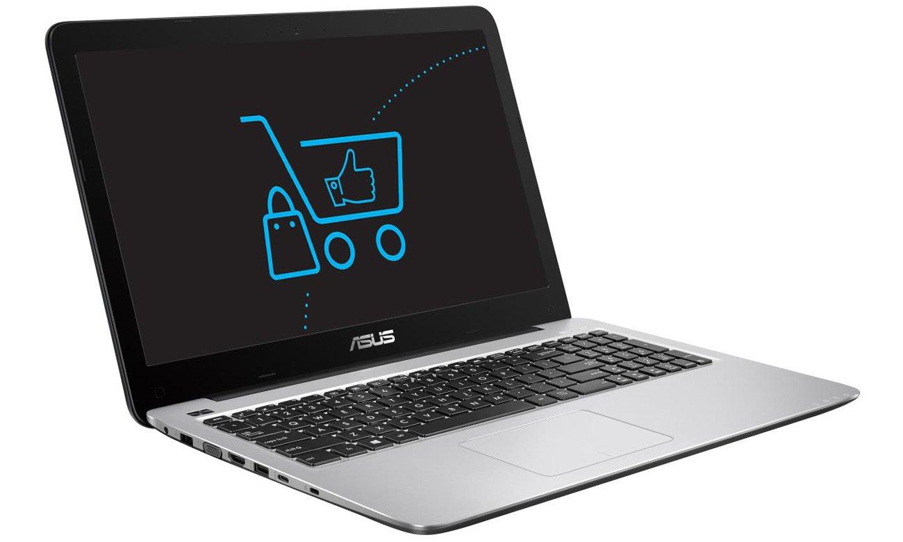 Laptop ASUS R558UQ karta graficzna