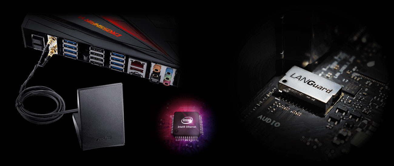 ASUS ROG CROSSHAIR VI HERO WI-FI AC Intel Ethernet Controller