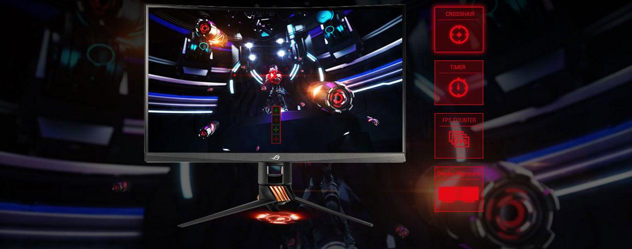 ASUS ROG PG27VQ Technologia GamePlus