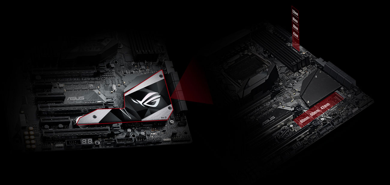ASUS ROG STRIX X299-XE GAMING SSD M.2