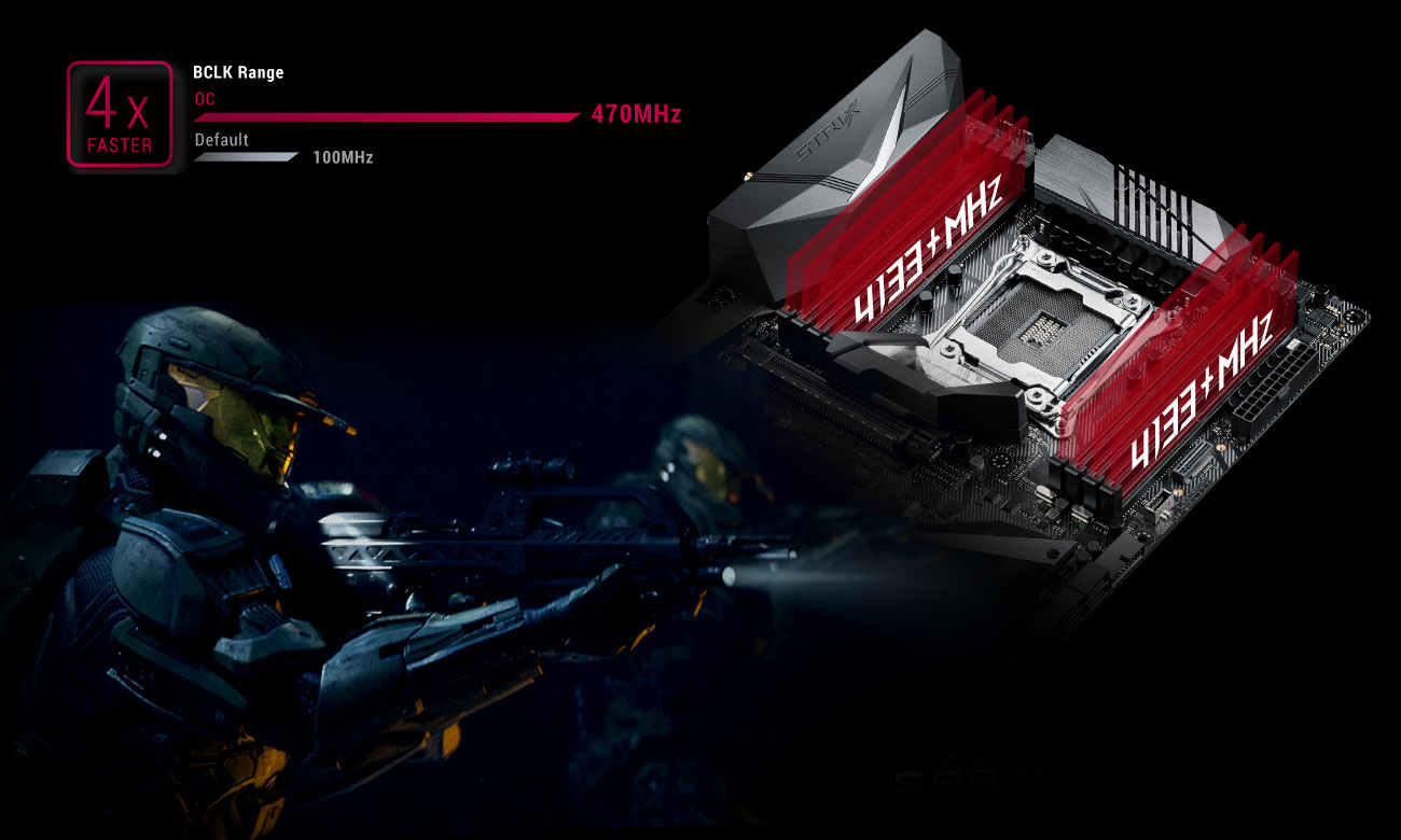 ASUS ROG STRIX X299-XE GAMING Overclocking