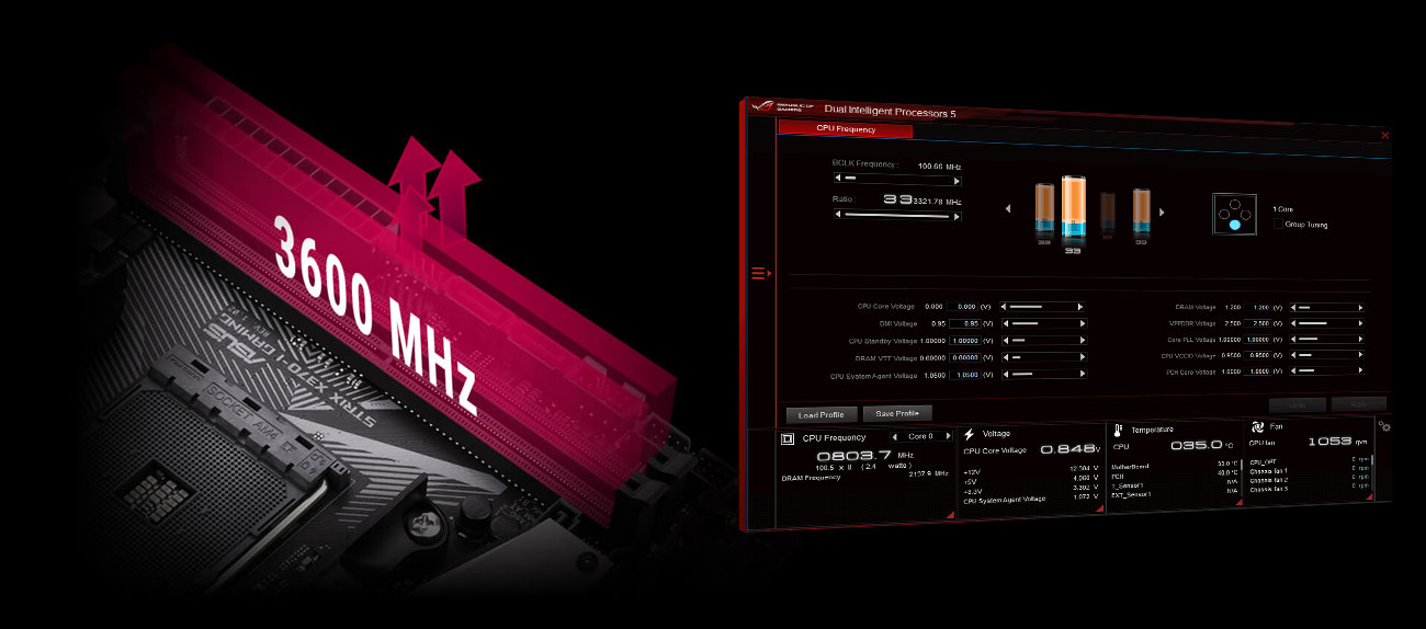 ASUS ROG STRIX X370-I GAMING Overclocking