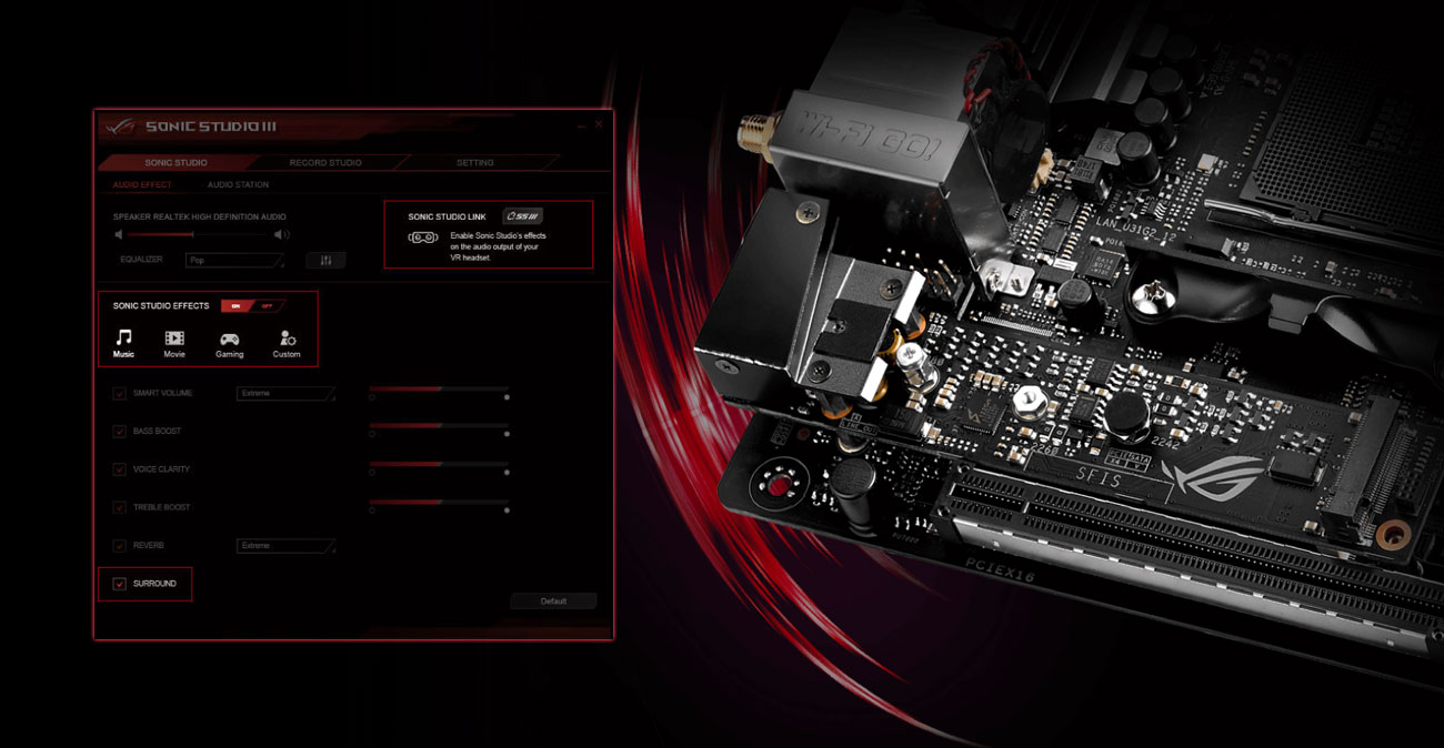 ASUS PRIME X470-PRO Audio SupremeFX