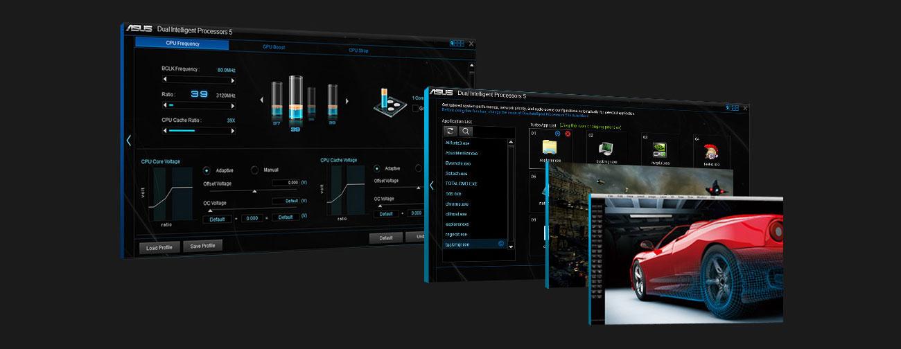 ASUS PRIME X470-PRO ASUS 5-way Optimization