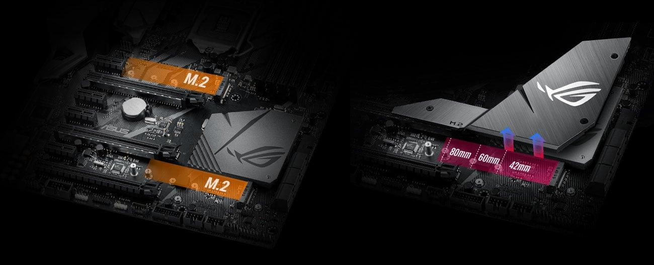 ASUS ROG STRIX Z370-F GAMING PCIe 3.0 x4 M.2 Intel Optane