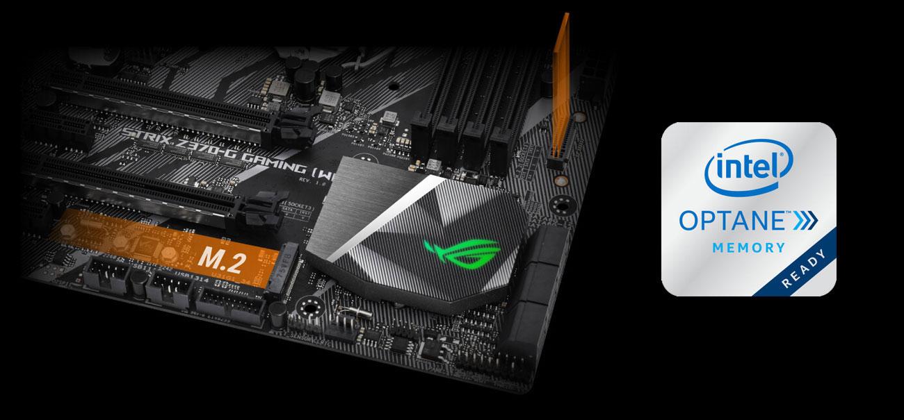 ASUS ROG STRIX Z370-G GAMING (WI-FI AC) M.2 Intel Optane