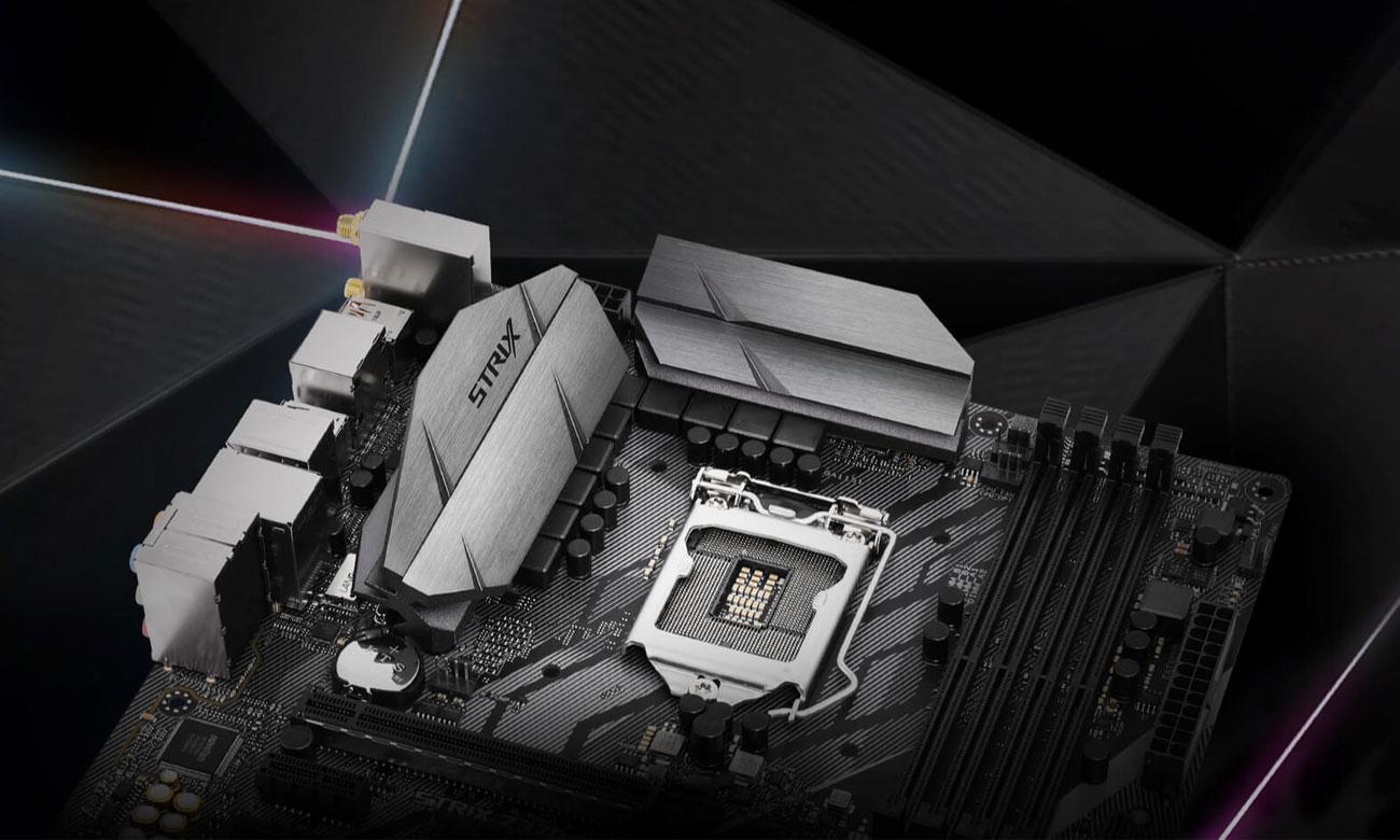 ASUS ROG STRIX Z370-G GAMING (WI-FI AC) Solidne podzespoły