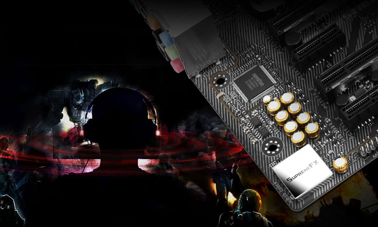 ASUS ROG STRIX Z370-G GAMING (WI-FI AC) SupremeFX Sonic Studio III