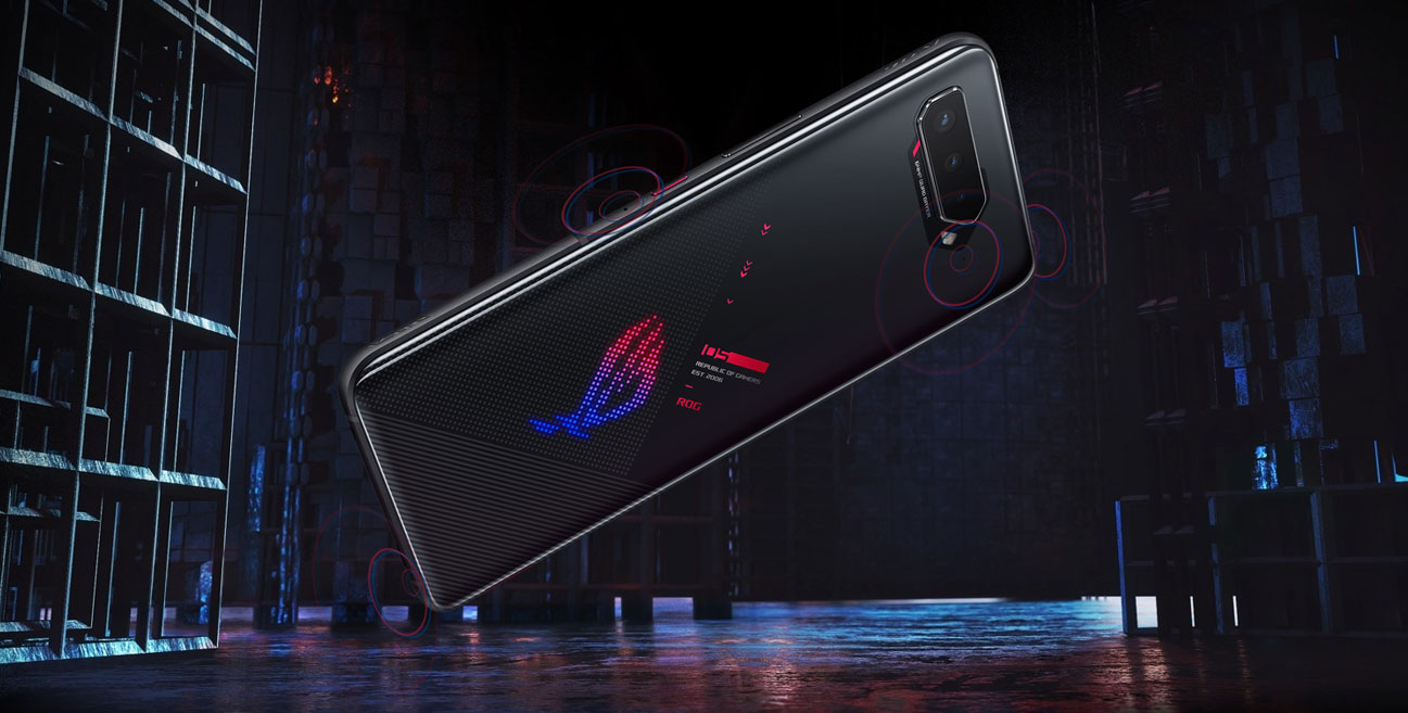 Smartfon gamingowy ASUS ROG 5 ZS673KS 12/256 GB Black