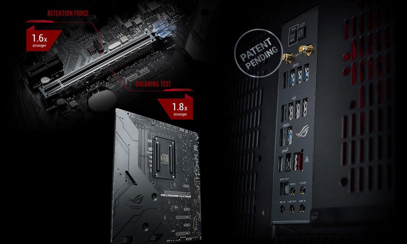 Asus ROG Crosshair VI Extreme Najlepsze gamingowe zabezpieczenia