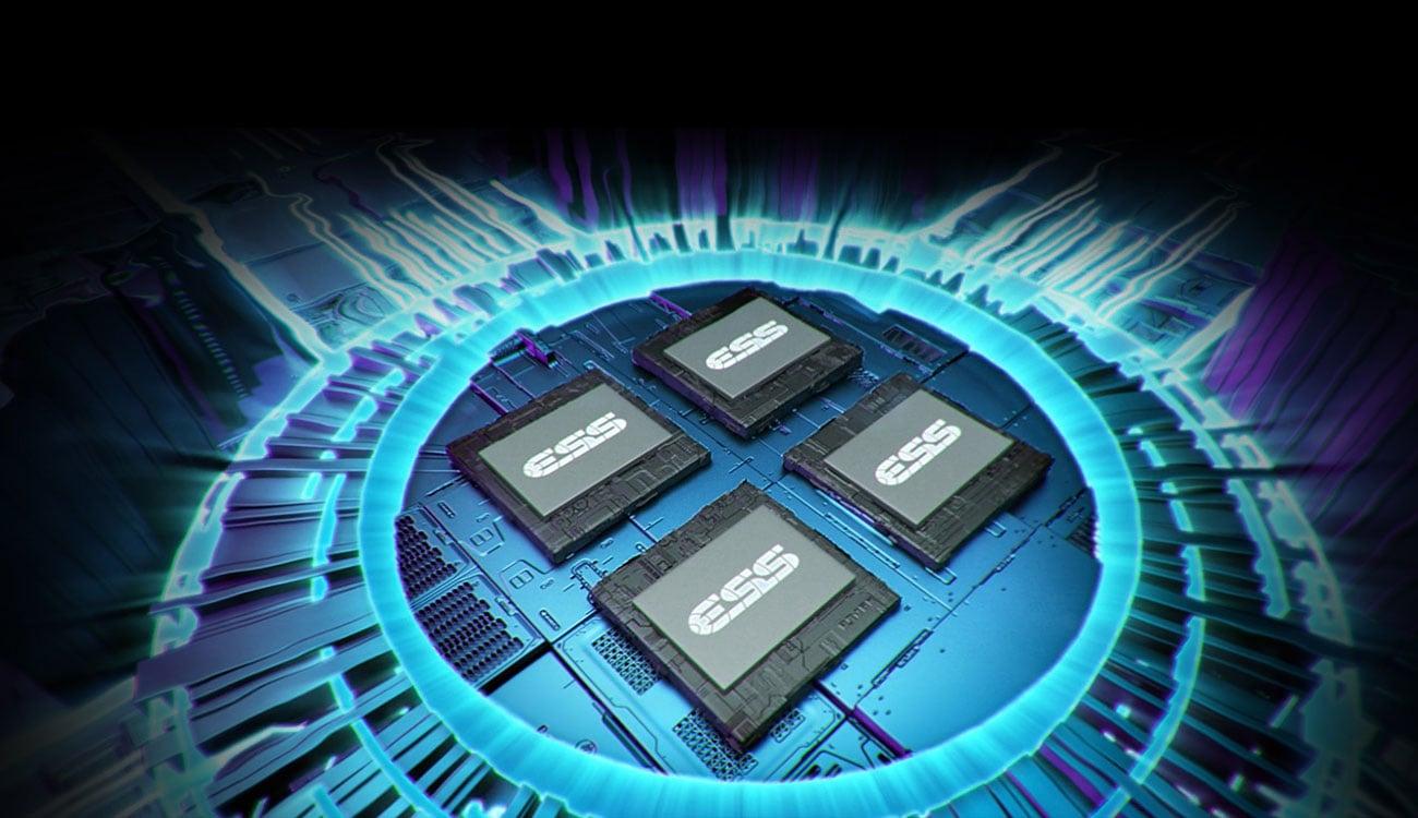 Hi-fi ESS 9218 Quad-DAC