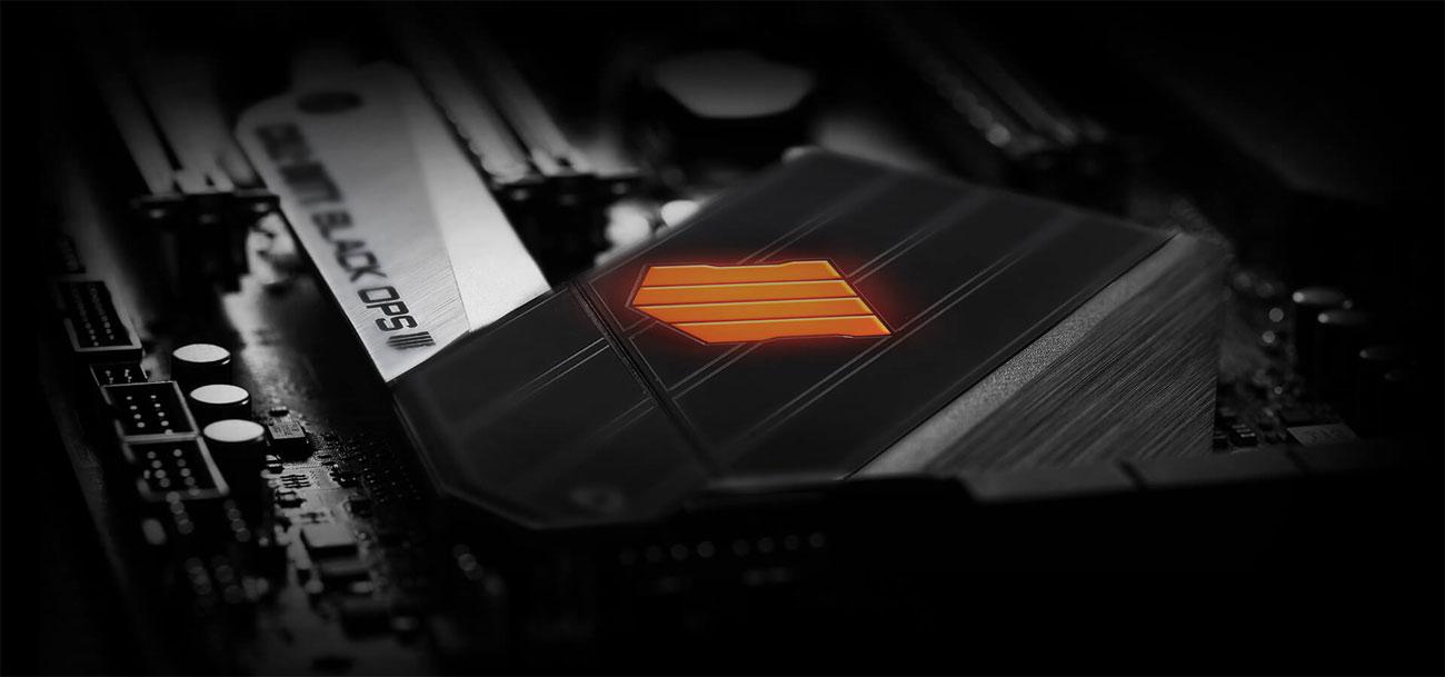 ASUS ROG MAXIMUS XI HERO (WI-FI CE) Black Ops 4 Edition Radiator wytrzymałość