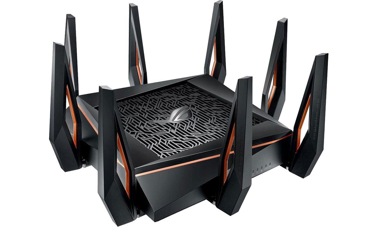 Router ASUS ROG Rapture GT-AX11000 11000Mb/s a/b/g/n/ac/ax, 2xUSB, 4xLAN