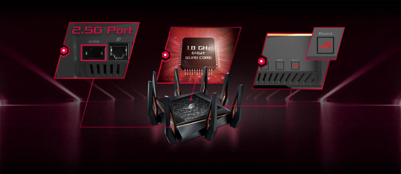 ROG Rapture GT-AX11000 Podzespoły