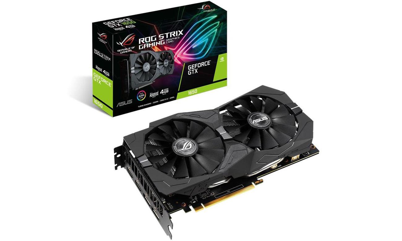ASUS GeForce GTX 1650 Strix Advanced Edition