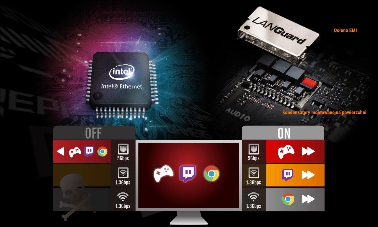 ASUS ROG STRIX H370-F GAMING Intel Gigabit Ethernet