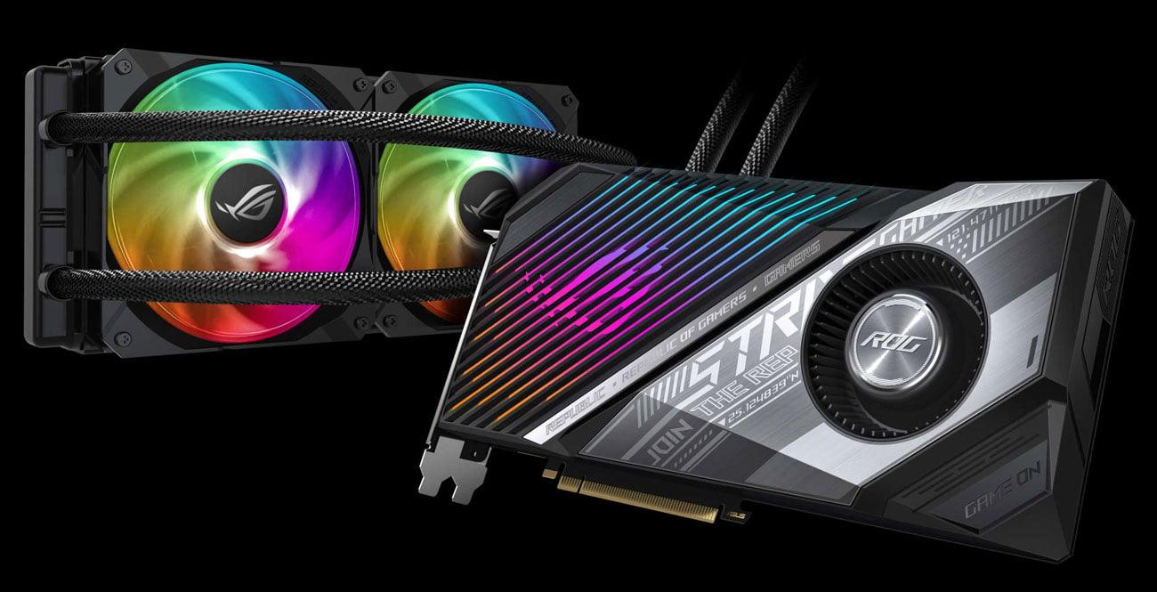 ASUS Radeon RX 6800 XT ROG Strix LC OC - Chłodzenie wodne