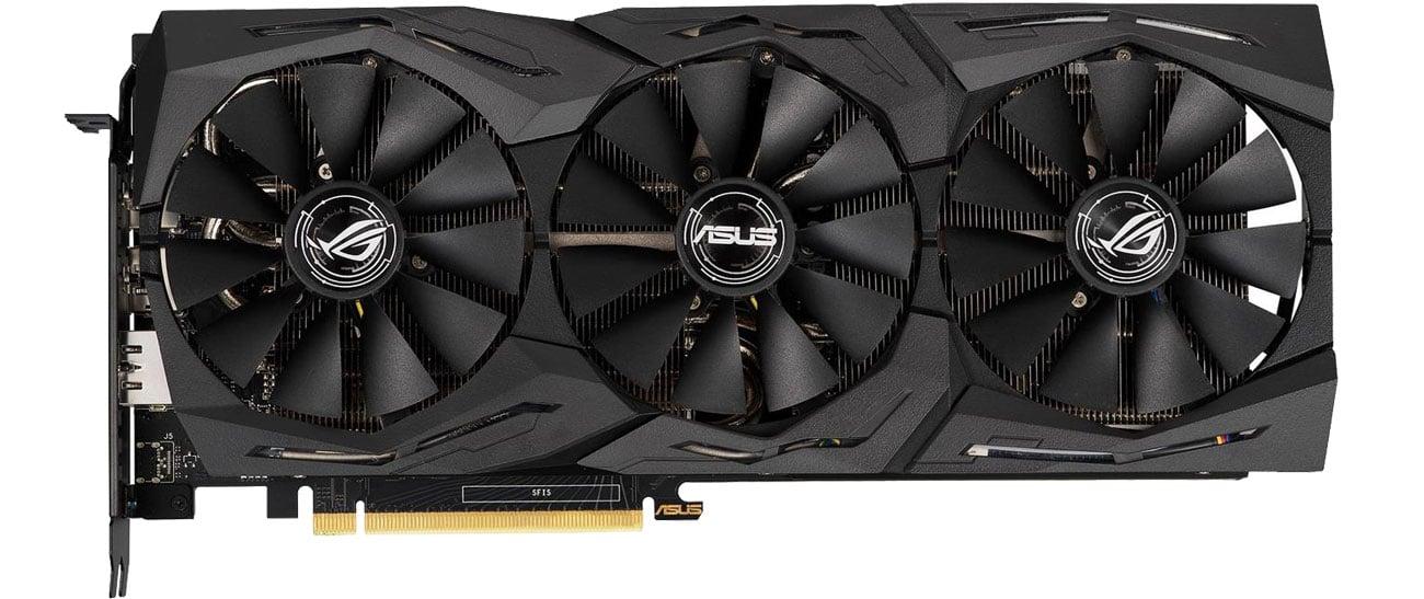 ASUS GeForce RTX 2060 ROG Strix OC Chłodzenie