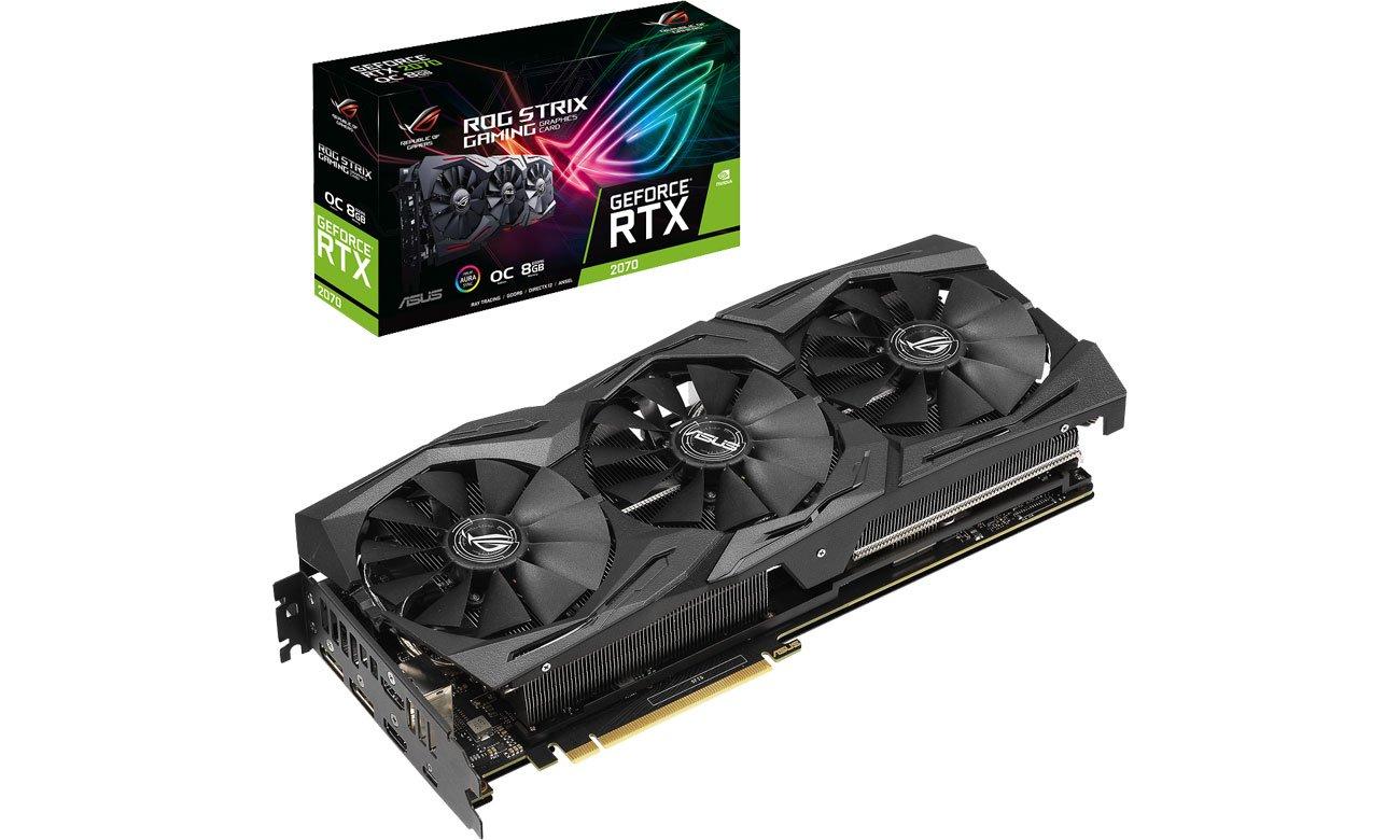 Karta graficzna NVIDIA ASUS GeForce RTX 2070 ROG Strix OC 8GB GDDR6
