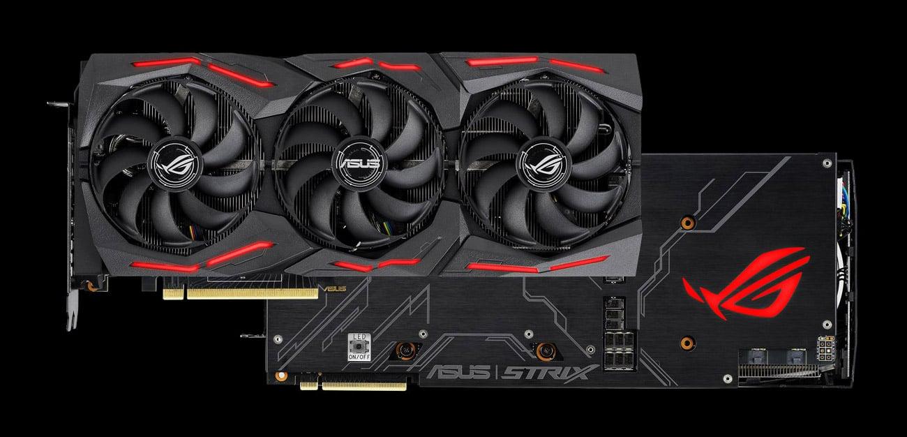 ASUS GeForce RTX 2070 SUPER ROG Strix OC - Chłodzenie