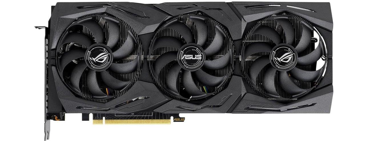 ASUS GeForce RTX 2080 ROG Strix OC chłodzenie
