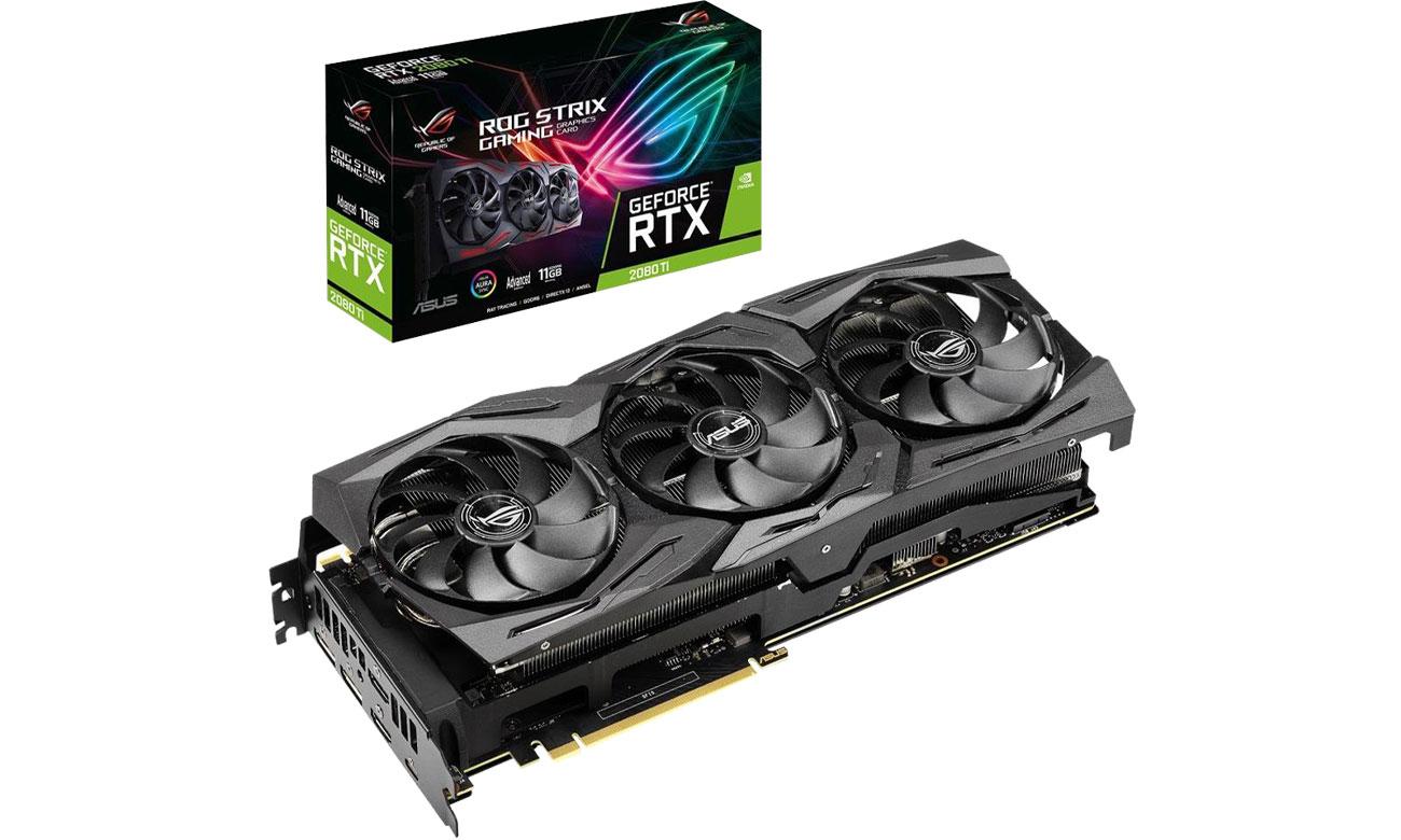 Karta graficzna ASUS GeForce RTX 2080 Ti ROG Strix Advanced 11GB GDDR6 ROG-STRIX-RTX2080TI-A11G-GAMING