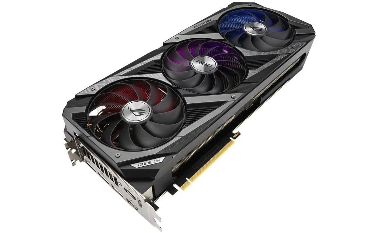 Karta graficzna ASUS GeForce RTX 3090 ROG STRIX 24GB