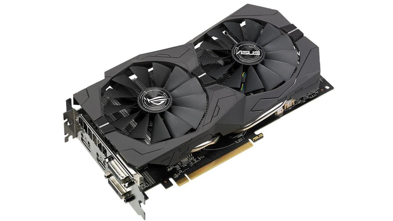 ASUS Radeon RX 570 STRIX ASUS FanConnect II