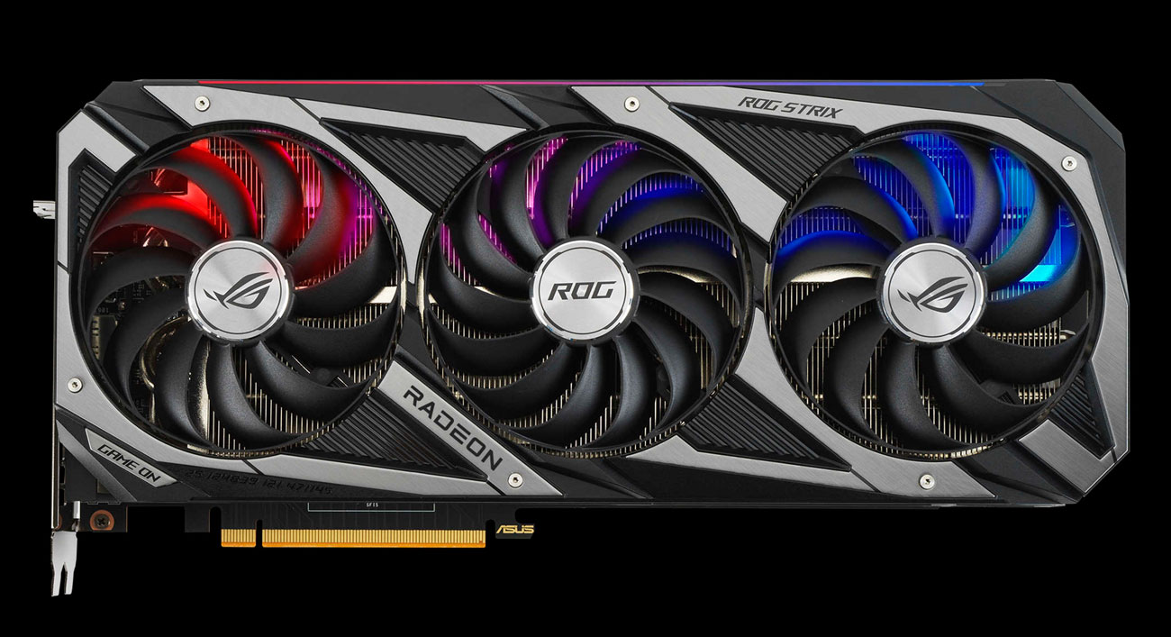 ASUS Radeon RX 6800 ROG Strix OC - Chłodzenie