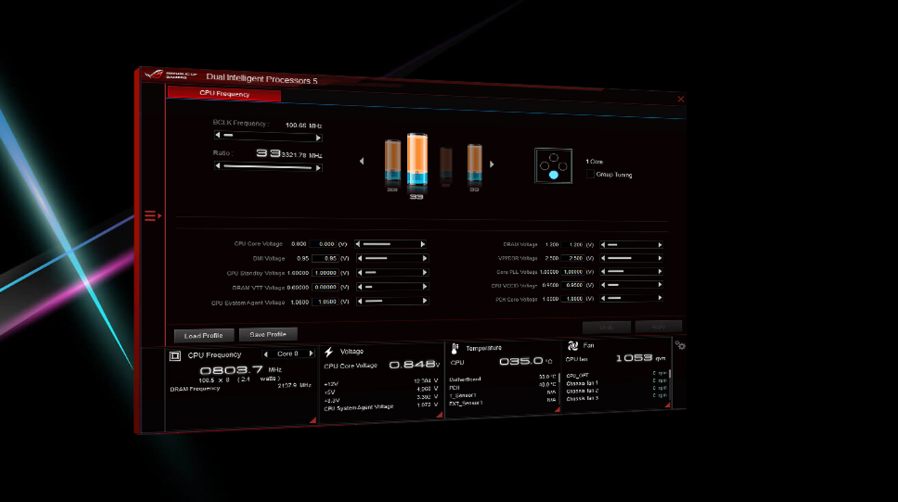 ASUS ROG STRIX X399-E GAMING 5-way optimalization