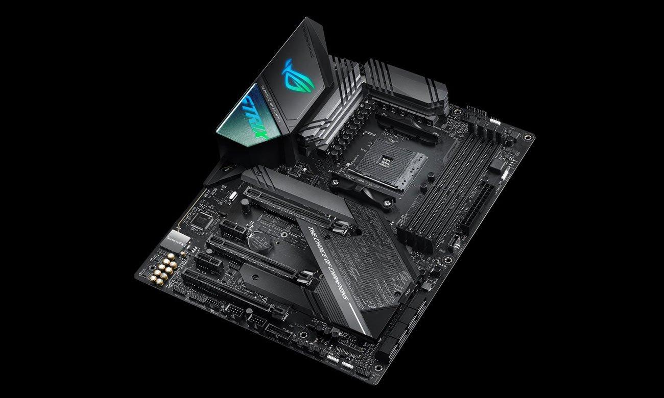 ASUS ROG STRIX X570-F GAMING - Chłodzenie, radiatory
