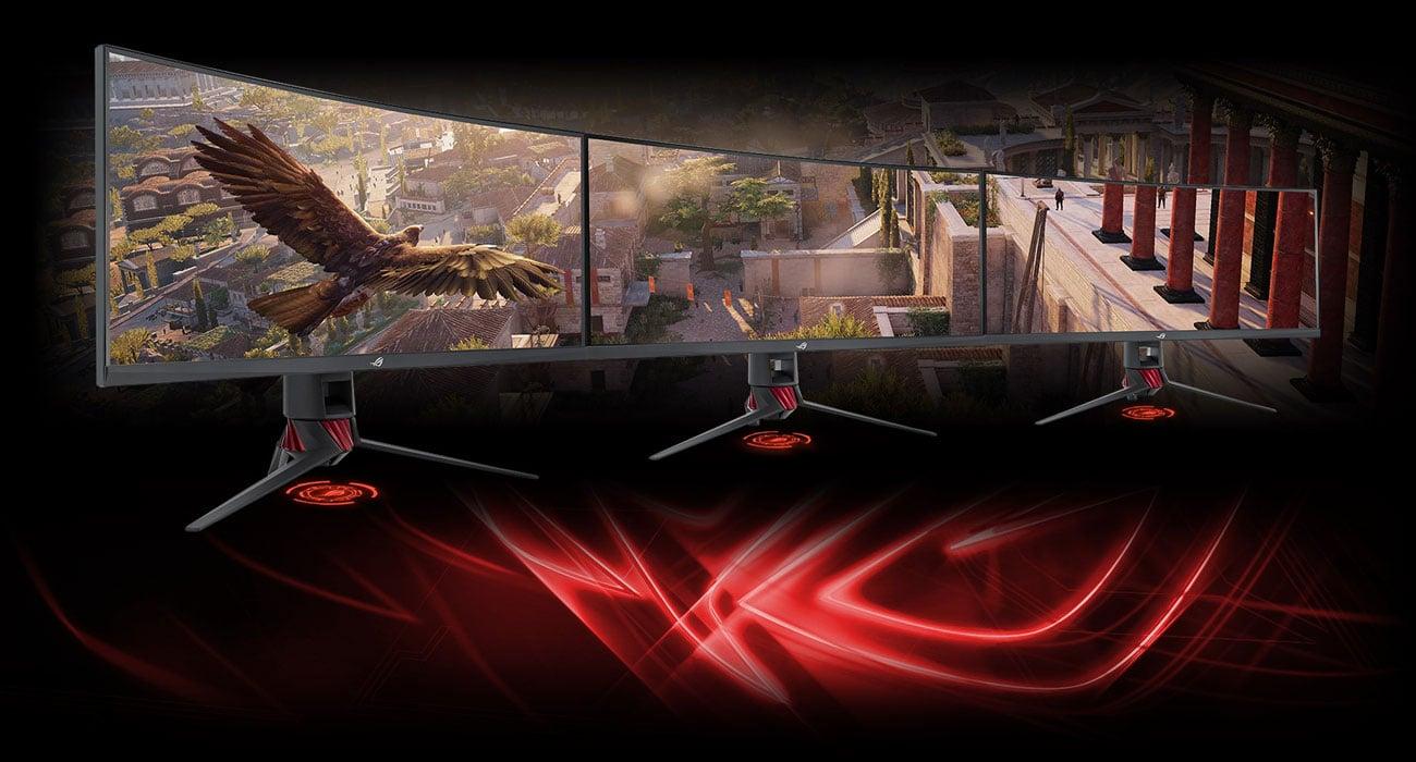 Asus ROG Strix XG35VQ Superwąska ramka