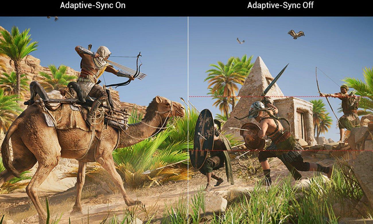 Asus ROG Strix XG35VQ Technologia Adaptive-Sync (FreeSync)