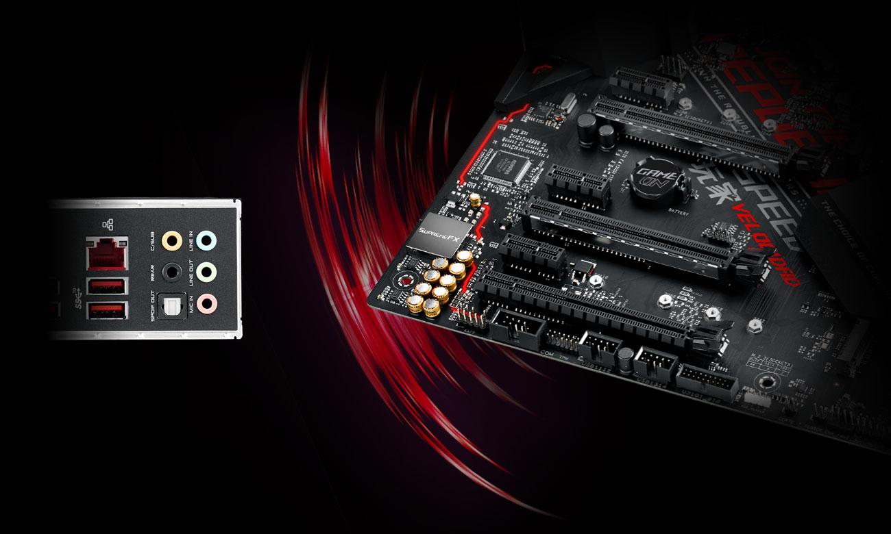 ASUS ROG STRIX Z390-H GAMING Audio SupremeFX