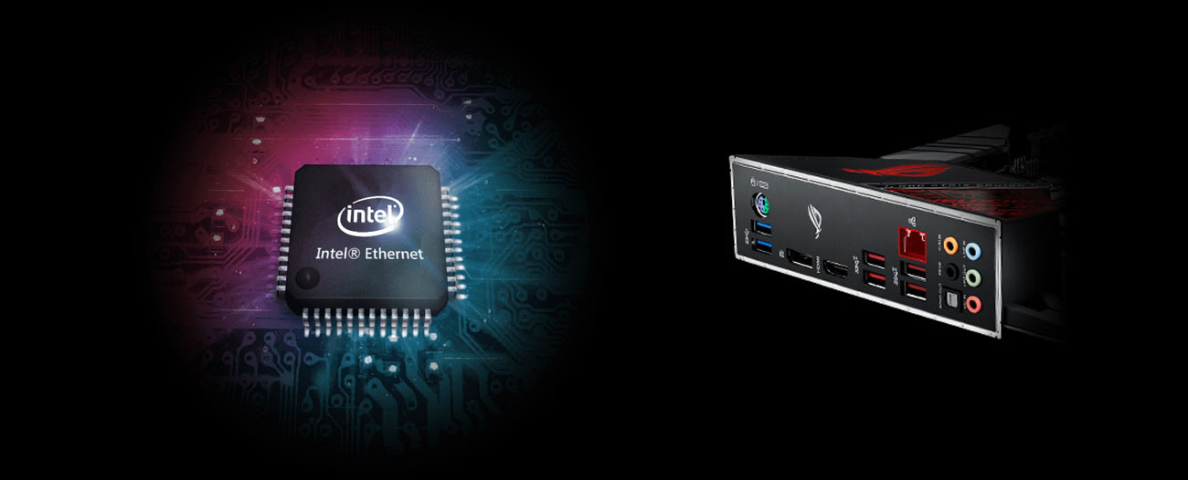 ASUS ROG STRIX Z390-H GAMING Sieć Intel LAN