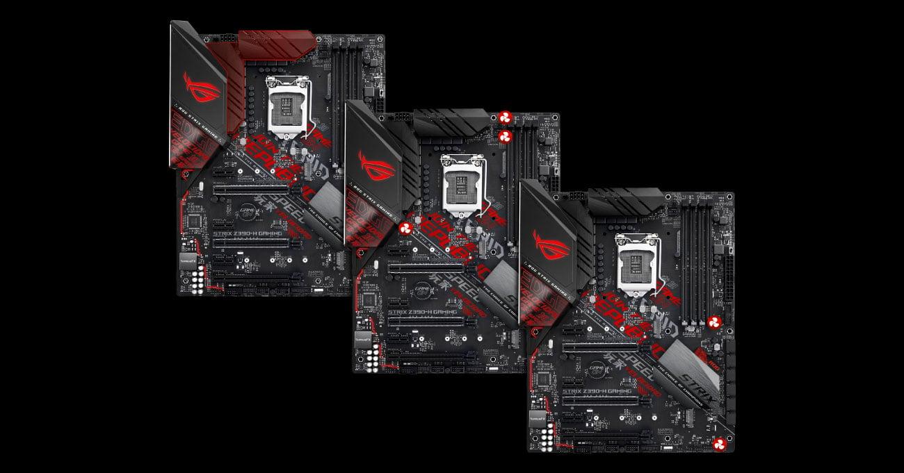ASUS ROG STRIX Z390-H GAMING Opcje chłodzenia