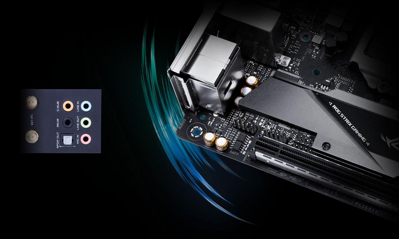 ASUS ROG STRIX Z390-I GAMING Audio SupremeFX