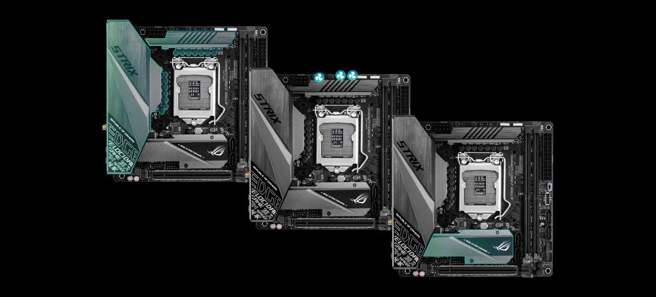 ASUS ROG STRIX Z390-I GAMING Chłodzenie