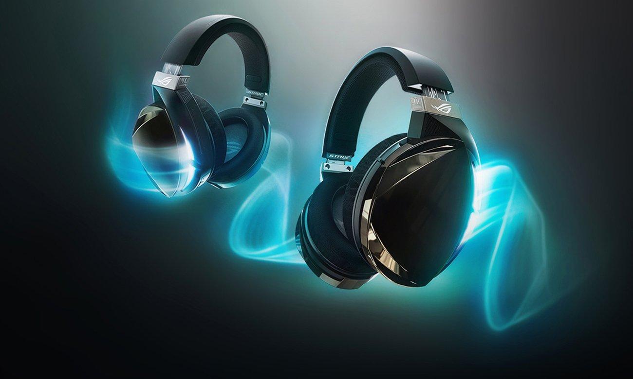 Słuchawki Asus ROG Strix Fusion 500 7.1-kanałowy dźwięk przestrzenny
