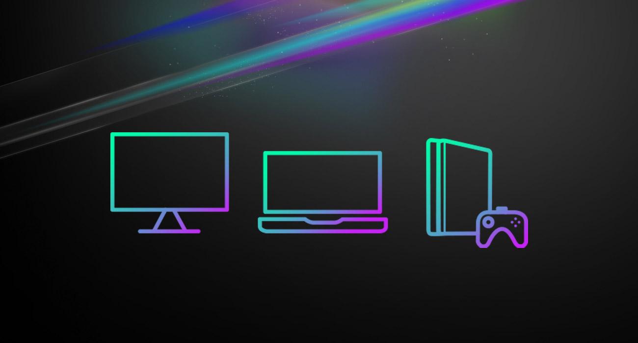ASUS ROG Strix Fusion Wireless Pełna kompatybilność z PC i PlayStation 4
