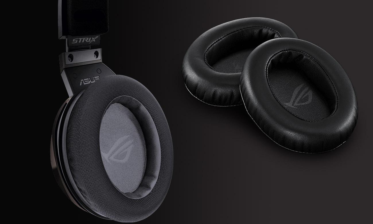ASUS ROG Strix Fusion Wireless Ekskluzywne poduszki uszne ROG Hybrid