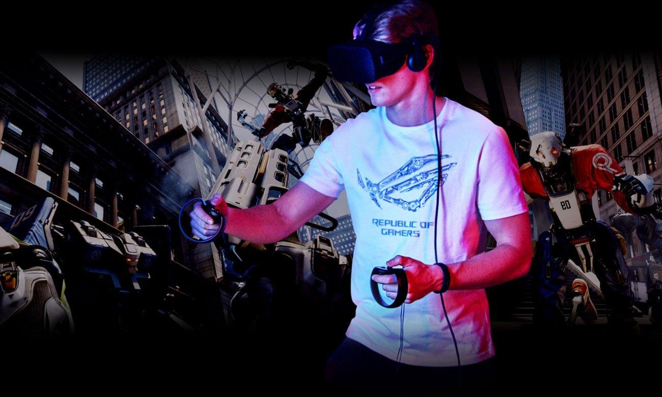 ASUS ROG Strix GL703GS SCAR wciągające wrażenia w VR