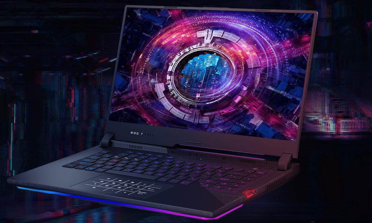 Gamingowy charakter oraz podświetlana klawiatura RGB