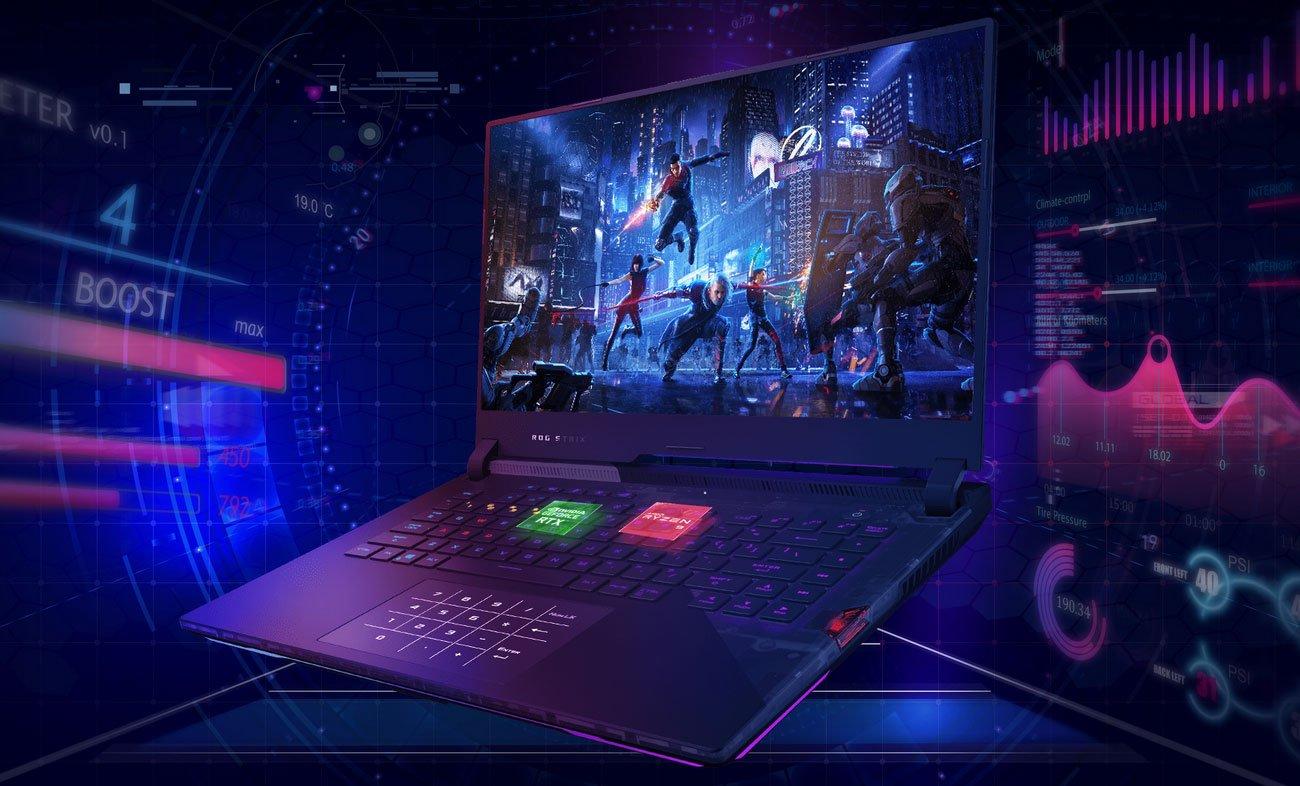 Wydajny procesor AMD Ryzen™ 9 5900HX
