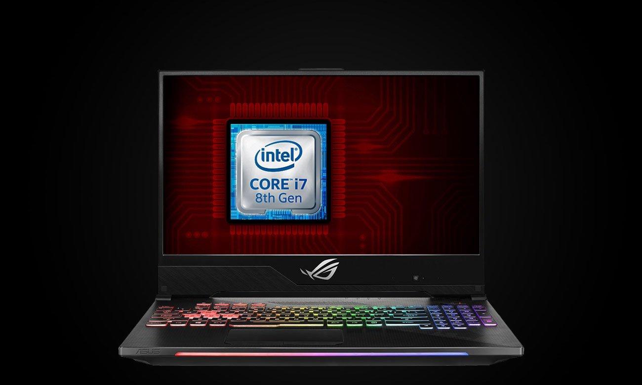 ASUS ROG Strix SCAR II GL504GS Procesor Intel Core i7 ósmej generacji