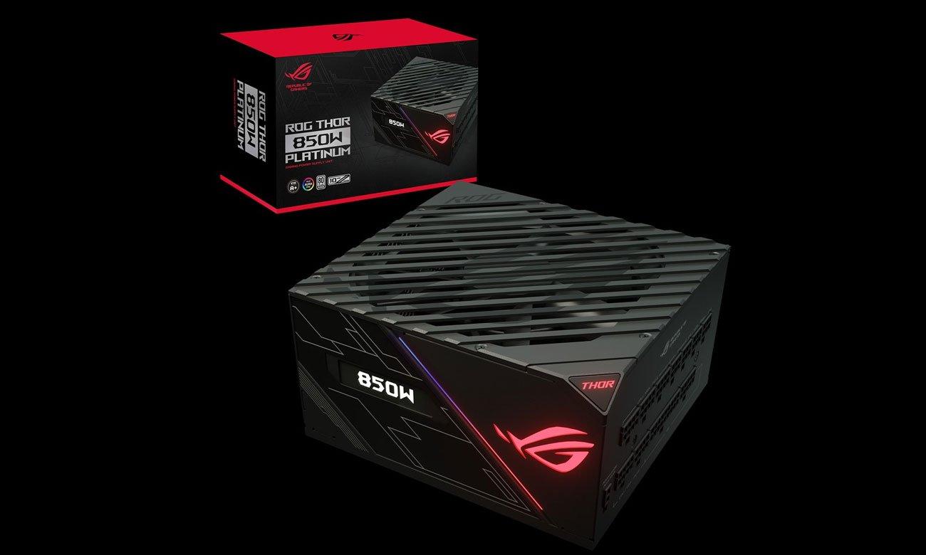 Zasilacz do komputera ASUS ROG Thor 850W 80 Plus Platinum ROG-THOR-850P